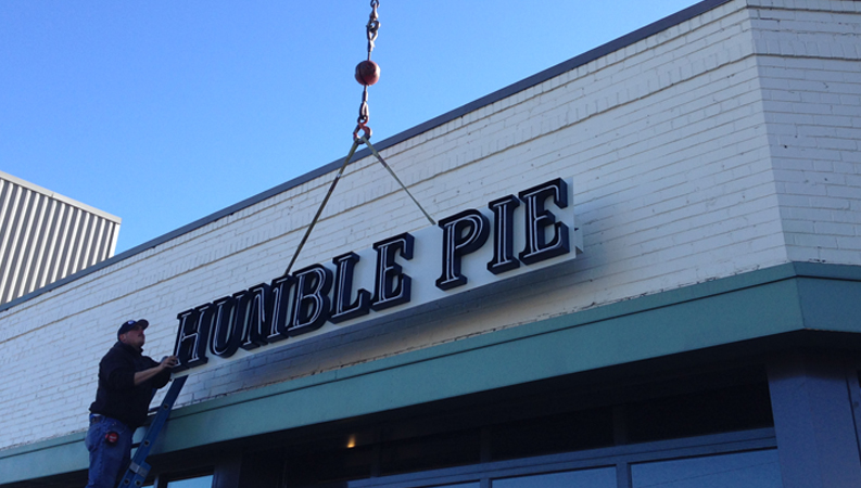 Humble Pie Installation