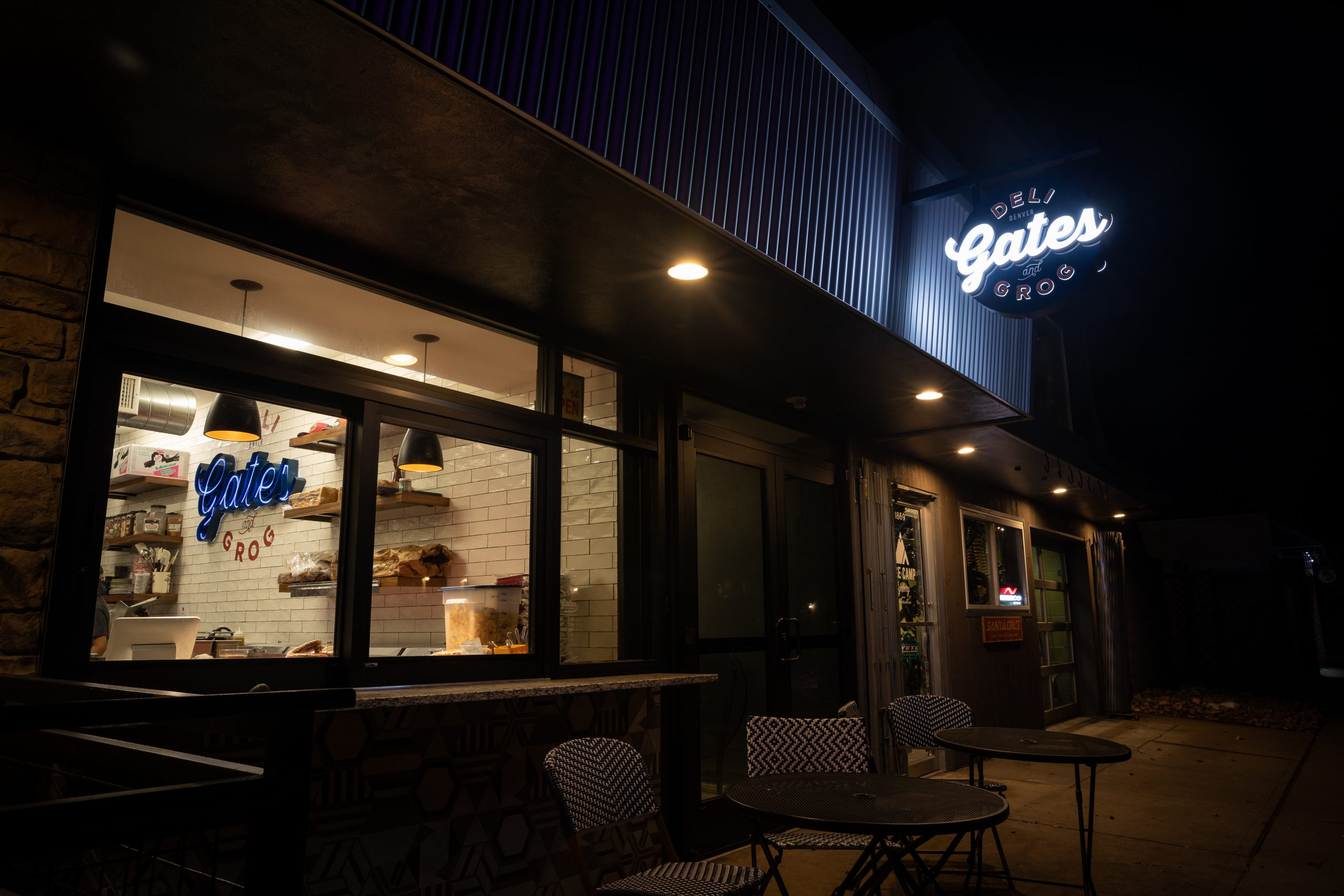 Gates Deli (outside At Night) 8